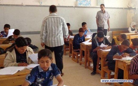 التربية تعلن عدد التلاميذ المتوجهين لأداء الامتحانات النهائية للسادس الابتدائي