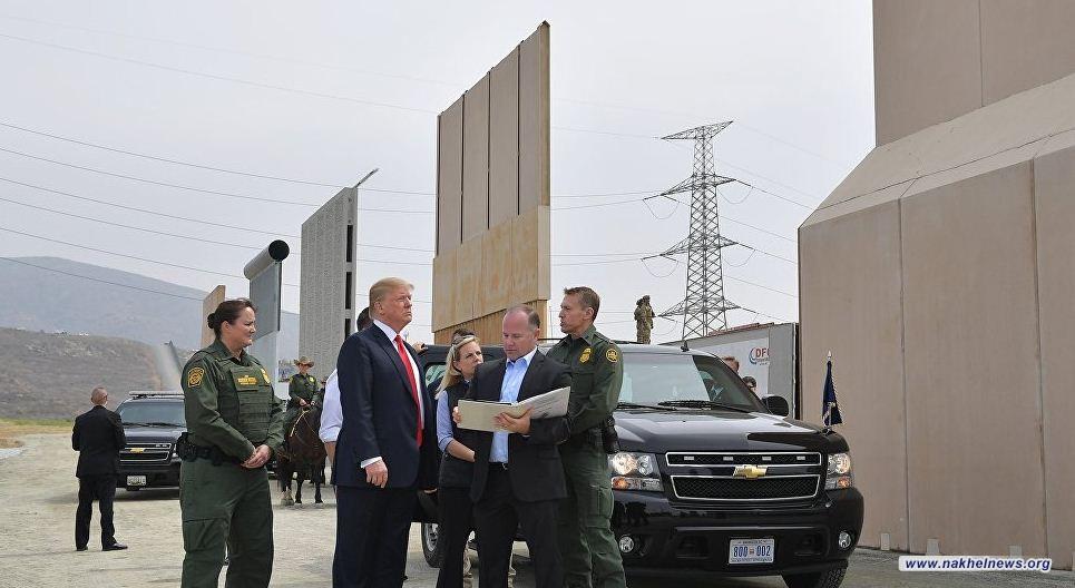 ترامب: الجيش سيتولى بناء الجدار الحدودي مع المكسيك إذا لم يصوت الديمقراطيون لصالحه