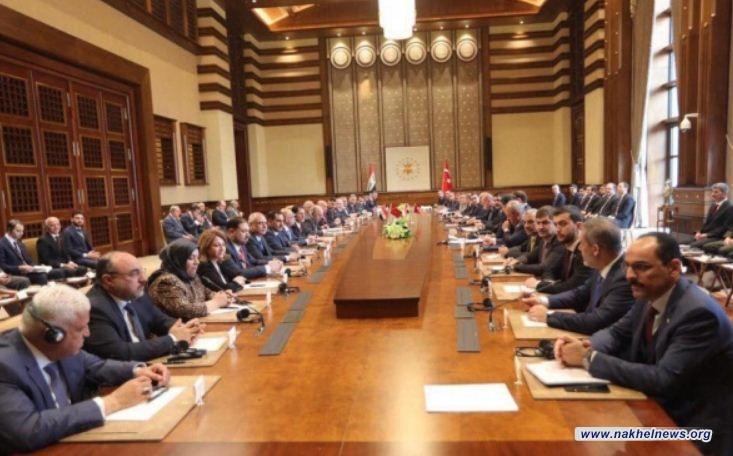 اردوغان لعبد المهدي: قوة ورفاه وتقدم تركيا هي قوة ورفاه وتقدم للعراق