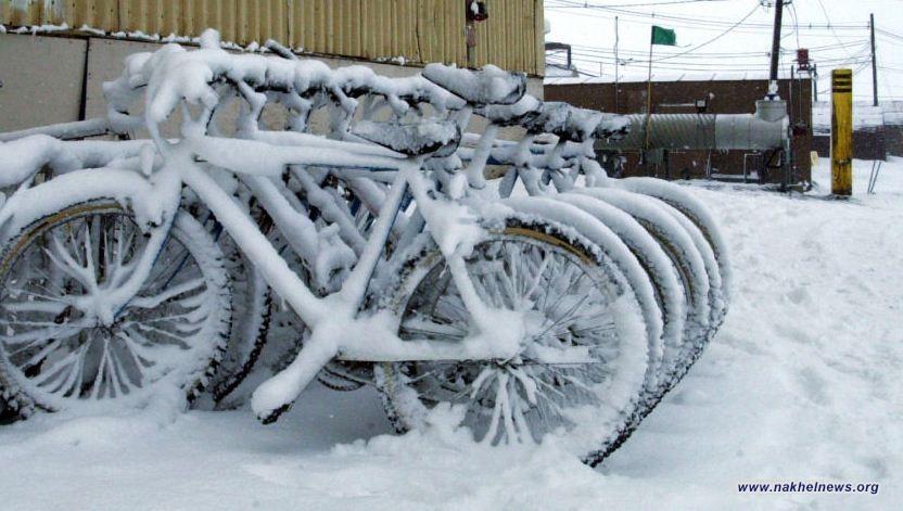 اغلاق مدارس ووفاة اشخاص بعد عاصفة قطبية ضربت أمريكا
