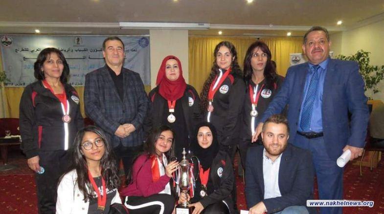 العراق يحصل على سبعة اوسمة في بطولة المنتخبات العربية