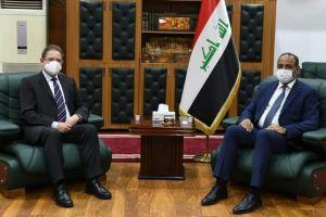 وزير الثقافة يلتقي القائم بالأعمال الألماني في بغداد ويؤكد تطوير التعاون بين البلدين