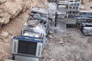 """ضبط 142 جهازاً يستعملها """"داعش"""" كسيرفرات للتغطية الاعلامية في نينوى"""