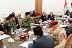 مجلس الأمن الوطني برئاسة عبد المهدي يناقش الوضع في الحدود مع سوريا
